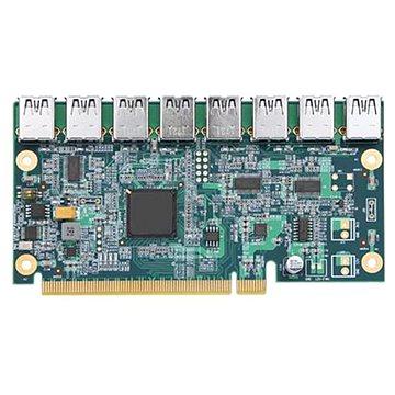 ANPIX adaptér z PCIe x16 na 8x USB (PCIe riser) (AG-EUXF-08)