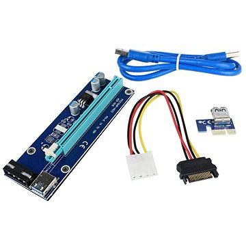 Redukce PCIe x16 na PCIe x1 (PCIe riser) (00434-99163405)