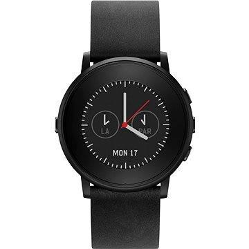 Chytré hodinky Pebble Time Round černé (PEBBLETIMERO20BL)