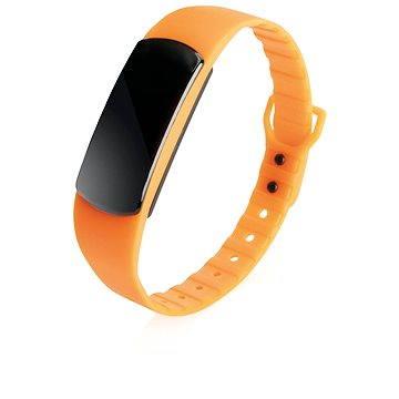 Fitness náramek XD Design Loooqs Be Fit oranžový (P330.108)