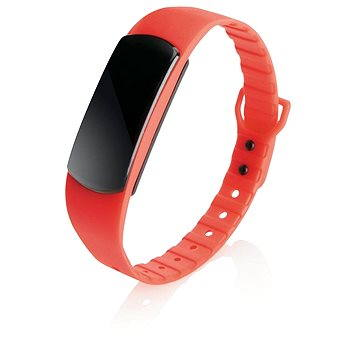 Fitness náramek XD Design Loooqs Be Fit červený (P330.104 )