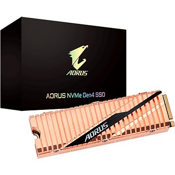 GIGABYTE AORUS NVMe Gen4 SSD 1TB (GP-ASM2NE6100TTTD )