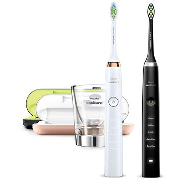 Philips Sonicare DiamondClean Black a Rosegold HX9392/39