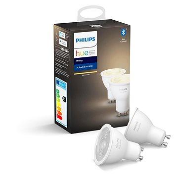 Philips Hue White 5,5W GU10 set 2ks (929001953502)