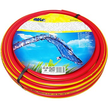 """MAGG Zahradní hadice červená - žlutý pruh 1"""" - 25m (02-11-1025)"""