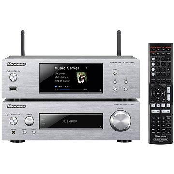 Pioneer XN-P02-S stříbrný + ZDARMA Sluchátka Pioneer SE-MJ503 černá