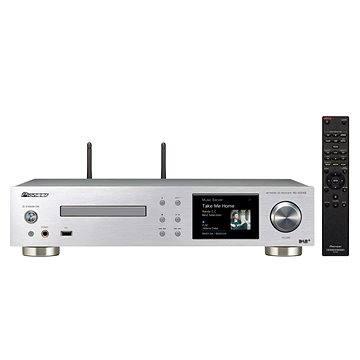 Pioneer NC-50DAB-S stříbrný + ZDARMA Sluchátka Pioneer SE-MJ503 černá