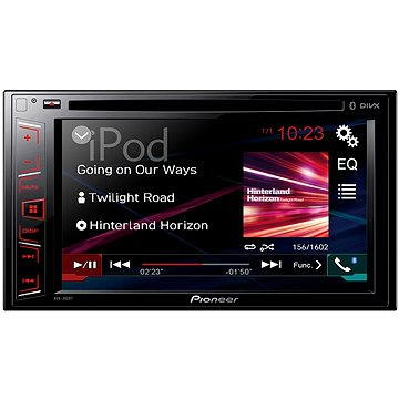 Pioneer AVH-280BT + ZDARMA Audiokniha MP3 Mix mluveného slova