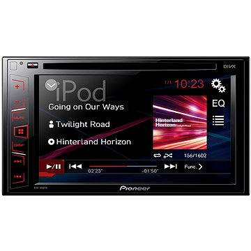 Pioneer AVH-180DVD + ZDARMA Audiokniha MP3 Mix mluveného slova
