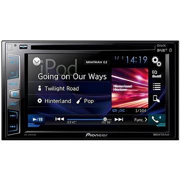 Pioneer AVH-X3800DAB + ZDARMA Audiokniha MP3 Mix mluveného slova Sluchátka Pioneer SE-MJ503 černá