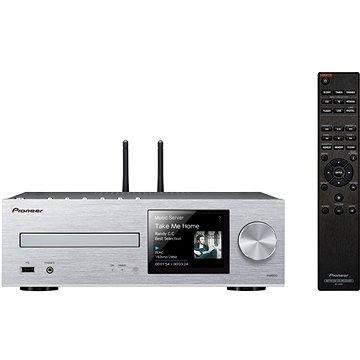 Pioneer XC-HM86D-S stříbrný + ZDARMA Sluchátka Pioneer SE-MJ503 černá