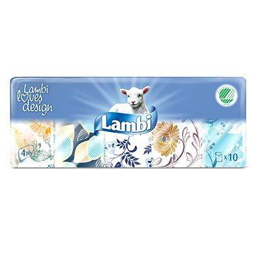 Papírové kapesníky LAMBI Classic (10x10ks) (7316970580002)