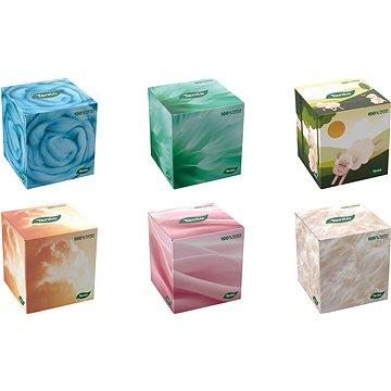 Papírové kapesníky TENTO Cubebox kosmetické utěrky (58ks) (8581010005619)