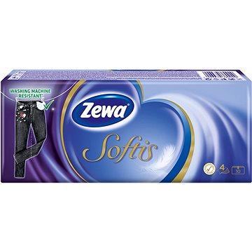 Papírové kapesníky ZEWA Softis Standard (10x10 ks) (4006670380929)