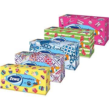Papírové kapesníky ZEWA Everyday Box (100 ks) (7322540043464)