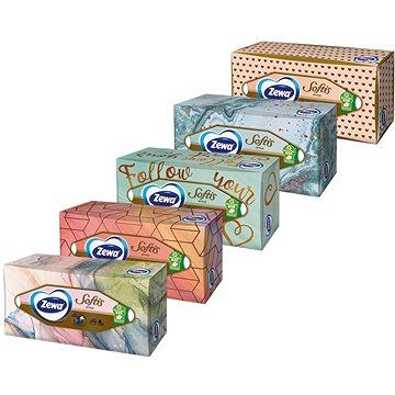 Papírové kapesníky ZEWA Softis Box (80 ks) (7322540441574)
