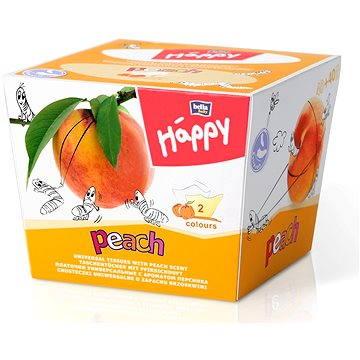 Papírové kapesníky BELLA Baby Happy broskev (80 ks) (5900516421519)
