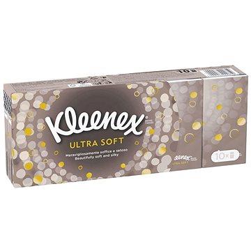 Papírové kapesníky KLEENEX Ultra Soft (10x9 ks) (5029053000619)