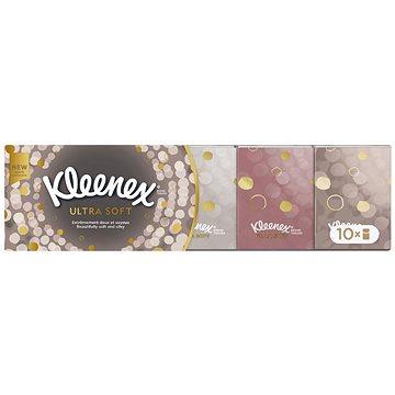 Papírové kapesníky KLEENEX Ultra Soft Mini (12x7 ks) (5029053005713) + ZDARMA Papírové kapesníky KLEENEX Balsam (8 ks)