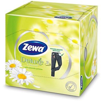 Papírové kapesníky ZEWA Deluxe Camomile Cube (60 ks) (7322540886030)