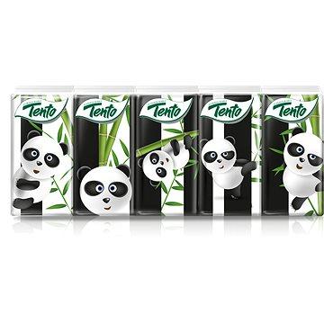 Papírové kapesníky TENTO Panda kapesníčky (10x10ks) (6414301019045)