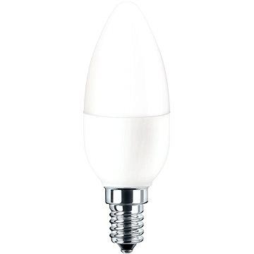 Pila LED svíčka, 5.5-40W, E14, 2700K, Mléčná (929001253631)