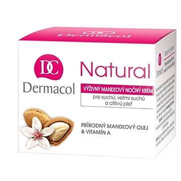 Dermacol Natural mandlový noční krém 50 ml