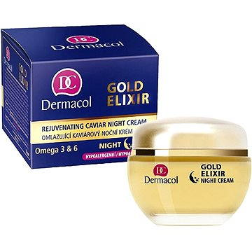 Dermacol Gold Elixir Caviar Night Cream 50 ml