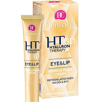 Dermacol 3D Hyaluron Therapy Eye&Lip Cream 15 ml