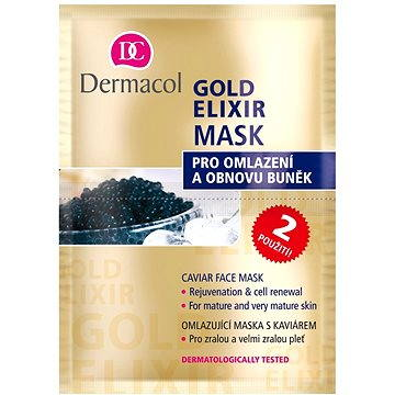 DERMACOL GOLD ELIXIR MASK 2x8 g