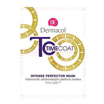 Pleťová maska DERMACOL Time Coat Face Mask 2× 8 ml (8590031099378)
