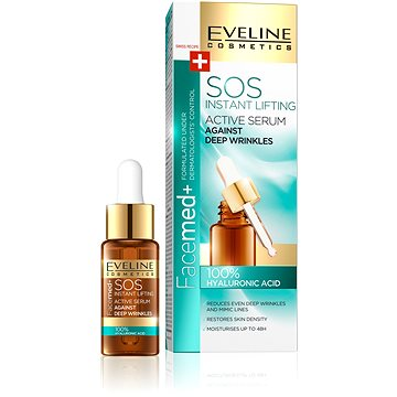 EVELINE Cosmetics FaceMed SOS hyaluronic acid 18 ml (5907609394446)