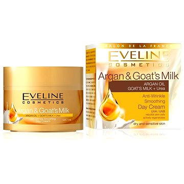 Pleťový krém EVELINE Cosmetics Argan & Goat Milk day cream 50 ml (5907609392183)