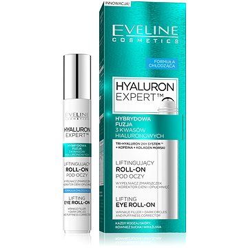 Oční roll-on EVELINE Cosmetics Royal bioHyaluron 4D cooling eye gel roll-on 15 ml (5901761939873)