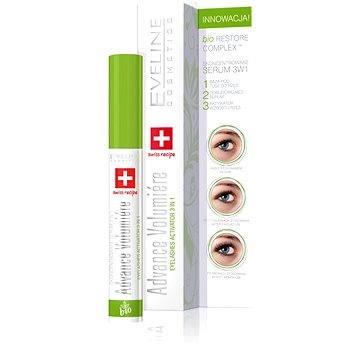 Sérum na řasy EVELINE Cosmetics Advance Volumiere eyelashes activator 3in1 10 ml (5907609337559)