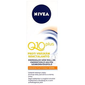 Oční roll-on NIVEA Q10 Plus Oční roll-on proti vráskám 10 ml (4005808060412)
