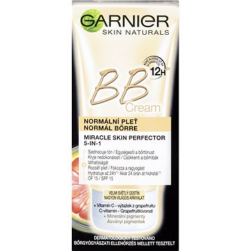 BB krém GARNIER Skin Naturals BB Cream 5v1 extra světlá 50 ml (3600541694477)