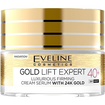 Pleťový krém EVELINE Cosmetics Gold Lift Expert Day&Night 40+ 50 ml (5901761941937)