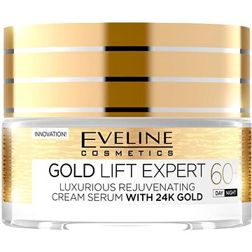 Pleťový krém EVELINE Cosmetics Gold Lift Expert Day&Night 60+ 50 ml (5901761941951)