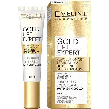 Pleťový krém EVELINE Cosmetics Gold Lift Expert Eye 40+ 15 ml (5901761941975)