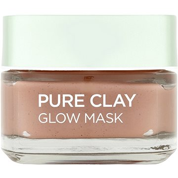 Pleťová maska LORÉAL PARIS Skin Expert Pure Clay Glow Mask 50 ml (3600523305971)