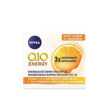 Pleťový krém NIVEA Energizujicí Denní krém proti vráskám Q10plus C 50 ml (9005800227313) + ZDARMA Dárek NIVEA Cellular AA Pearl serum blister 2 ml