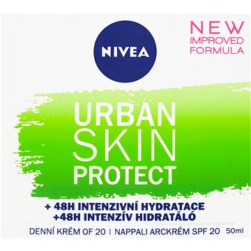NIVEA Urban Skin Detox Defence Day Cream 50 ml (9005800291680)