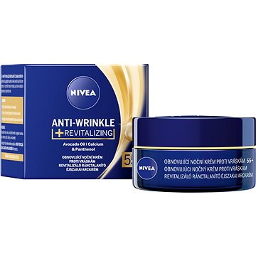 NIVEA Anti-Wrinkle Revitalizing 55+ Night Cream 50 ml (9005800290881)