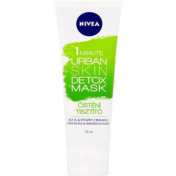 Pleťová maska NIVEA Essentials Urban Skin 1 Minute Clay Mask Detox 75 ml (9005800291710)