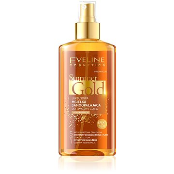 Samoopalovací emulze EVELINE COSMETICS Summer Gold Self Tanning Face&Body Light Skin 150 ml (5901761952025)