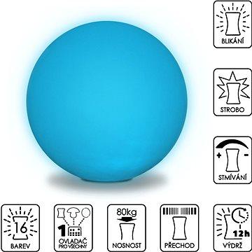 Colour changing Sphere 50cm (SLUFB50)