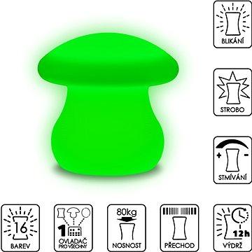 Colour changing Mushroom (SLUFM22)