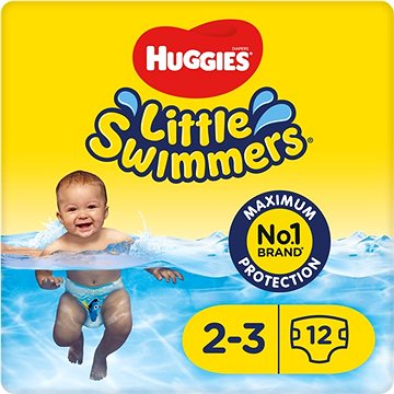 Huggies Little Swimmers 2-3/3-8 kg 12 ks