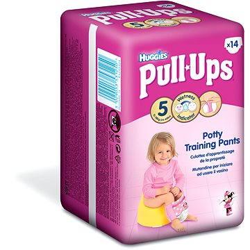 Huggies Pull-Ups girls L 14-18kg 14ks